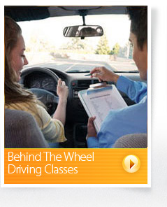 drivers ed behind the wheel